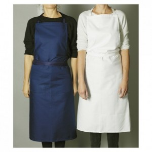 Valet's apron white with pocket 1020 x 950 mm