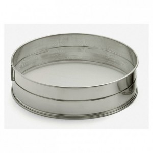 Sieve stainless steel Ø 220 mesh 1,28 mm