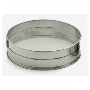 Sieve stainless steel Ø 400 mesh 1,28 mm