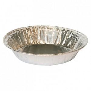 Tartlet aluminium mould TA 95 R Ø 100 mm (100 pcs)