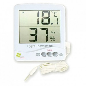 Digital Thermometer and humidity meter -50+70°C