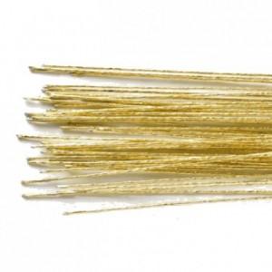 Culpitt Floral Wire Gold set/50 24 gauge