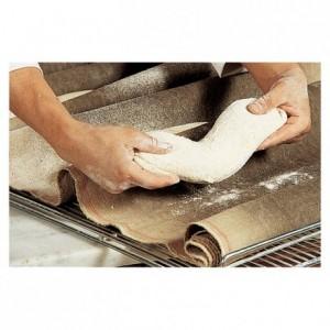 Dough fermentation cloth 100% natural linen 800 mm x 20 m