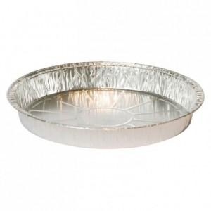 Plain pie pan aluminium mould TO 109 R Ø 110 mm (100 pcs)