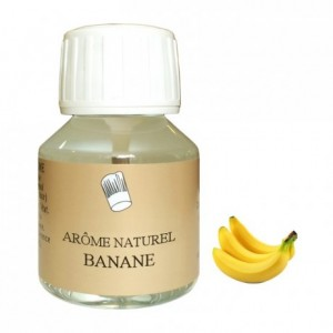 Banana natural flavour 58 mL