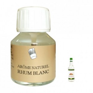 White rum natural flavour 58 mL