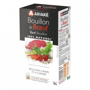 Beef Bouillon to infuse 5 sachets for 33 cL