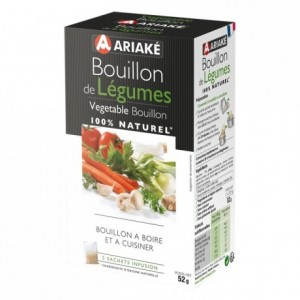 Vegetable Bouillon to infuse 5 sachets for 33 cL