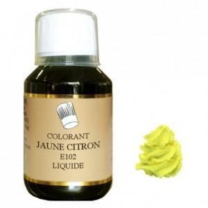 Liquid hydrosoluble colour Yellow lemon 115 mL