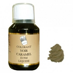 Liquid hydrosoluble Black caramel 115 mL