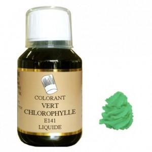 Liquid hydrosoluble colour Green chlorophyll 115 mL