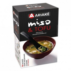 Miso and tofu instant soup 3 sachets
