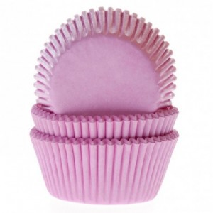 House of Marie Baking cups Light Pink pk/50