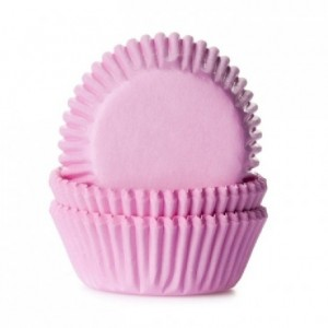 House of Marie Mini Baking cups Light Pink pk/60