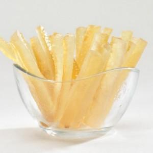 Lemon peels stripes 1 kg