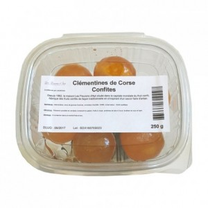Candied corse clementins 250 g