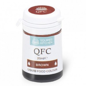 SK QFC Quality Food Colour Liquid Brown 20ml