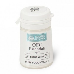 SK QFC Quality Food Colour Dust XTRA White 8g