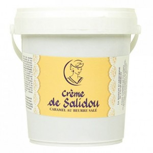 Salted butter caramel cream Salidou 1 kg