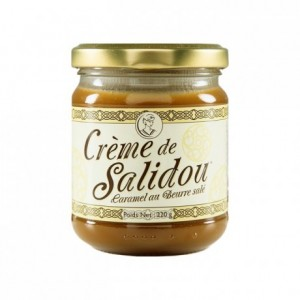 Salted butter caramel cream Salidou 220 g