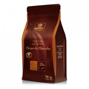 Dark chocolate drops 50% cocoa 5 kg