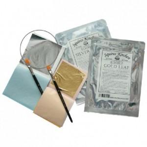 SK Designer Silver Leaf Book of 5 Sheets