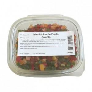 Mixed candied cubes 250 g