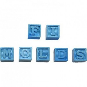 First Impression Molds Alphabet Blocks