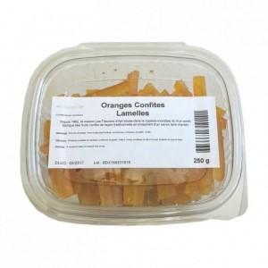 Candied orange strips 250 g