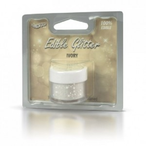 RD Edible Glitter Ivory 5g