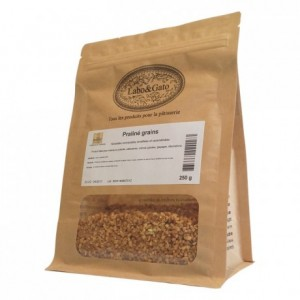 Praliné grains chopped and caramelised hazelnuts 50% 250 g