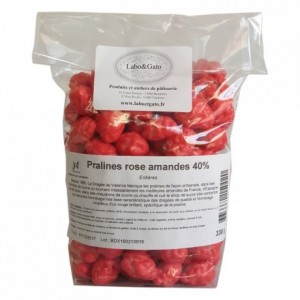 Pink Pralines almond 50% Supreme 330 g