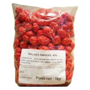 Pink Pralines almond 40% 1 kg