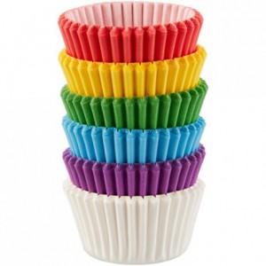 Wilton Mini Baking Cups Bright Sunrays pk/150