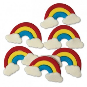 PME Edible Decorations Rainbows pk/6