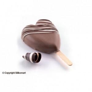 Heart mini popsicles mould