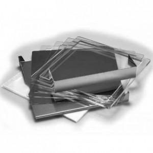 Valrhona ganache frame plexi 40 x 40 x 0,2 cm