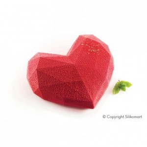 Amore Origami silicone mould 150 x 135 x 55 mm