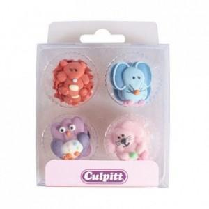 Culpitt Sugar Decorations Baby Animals pk/12