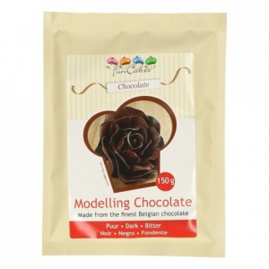 FunCakes Modelling Chocolate Dark -150g