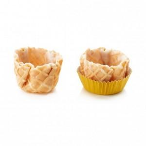 Basket crust vanilla La Rose Noire Ø40 mm (120 pcs)