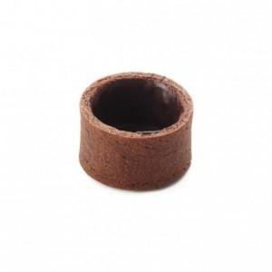 Round pie crust cocoa La Rose Noire Ø33 mm (210 pcs)