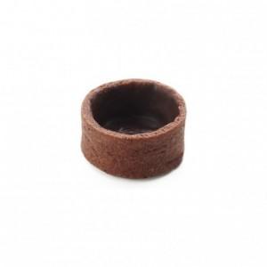 Round pie crust cocoa La Rose Noire Ø27 mm (224 pcs)