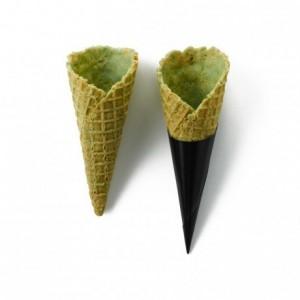 Salted cone basil La Rose Noire Ø30 x 70 mm (72 pcs)