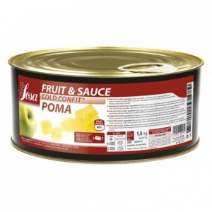 Fruit&sauce apple Sosa 1,5 kg