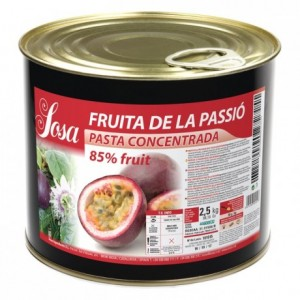 Passion fruit concentrated dough Sosa 1,5 kg