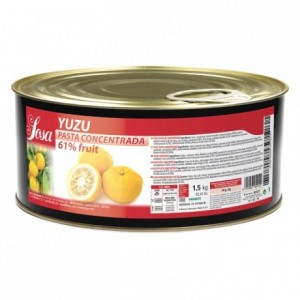 Yuzu concentrated dough Sosa 1,5 kg