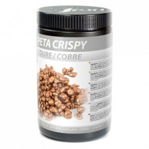 Chocolate bronze popping sugar Peta Crispy Sosa 900 g