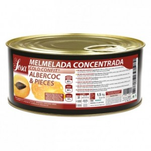 Apricot concentrated jam Sosa 1,5 kg