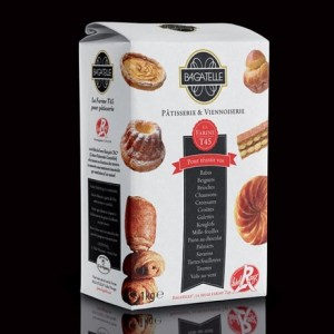 Farine Bagatelle Label Rouge CRC T45 gruau 1 kg